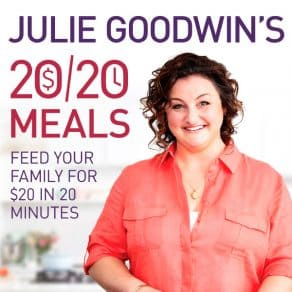 Julie Goodwin's 20-20 Meals