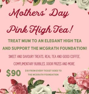 MOTHERS DAY PINK HIGH TEA