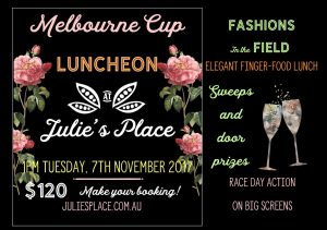 melbourne cup lunch