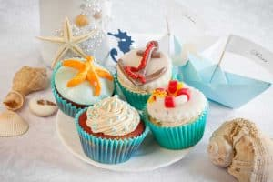 cupcakes under the sea